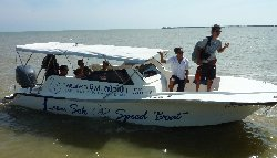 15 person speedboat from Trat to Koh Mak and Koh Kood