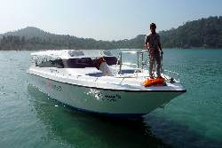 50 person speedboat from Trat to Koh Mak and Koh Kood